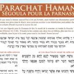 Ségoula pour la Parnassa – Parachat Hamane