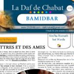 BAMIDBAR-CHAVOUOT